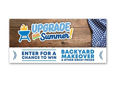 Upgrade Your Summer Sweepstakes (33 winners)- Ends June 30th